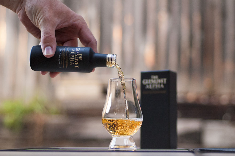 It's all about the pour; Glenlivet Alpha